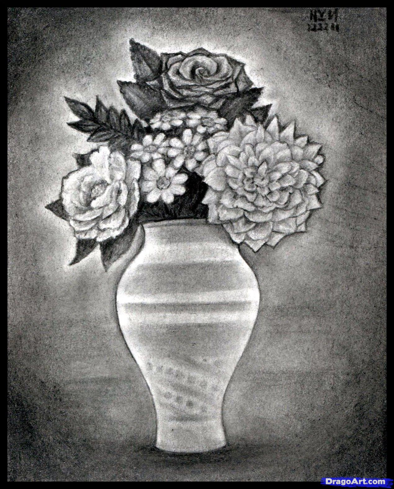 Drawn vase pencil drawing Pencils tumblr_o5azcteOoS1vpj9amo3_1280 Sketches Vase Pencils