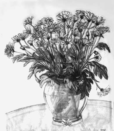 Drawn vase pencil drawing DRAWINGS PENCIL PORTRAITS of SKETCHES
