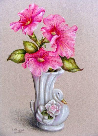 Drawn vase pencil drawing  CraftsPencil images pencil pencil