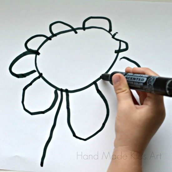 Drawn vase real flower Flowers Still Kids Handmade Flower