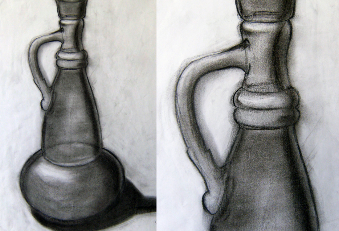 Drawn vase realistic A Product of Contemplation vase