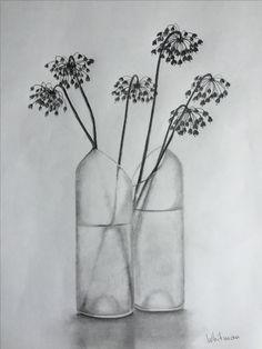 Drawn vase realistic Elena Pinterest by art #vase