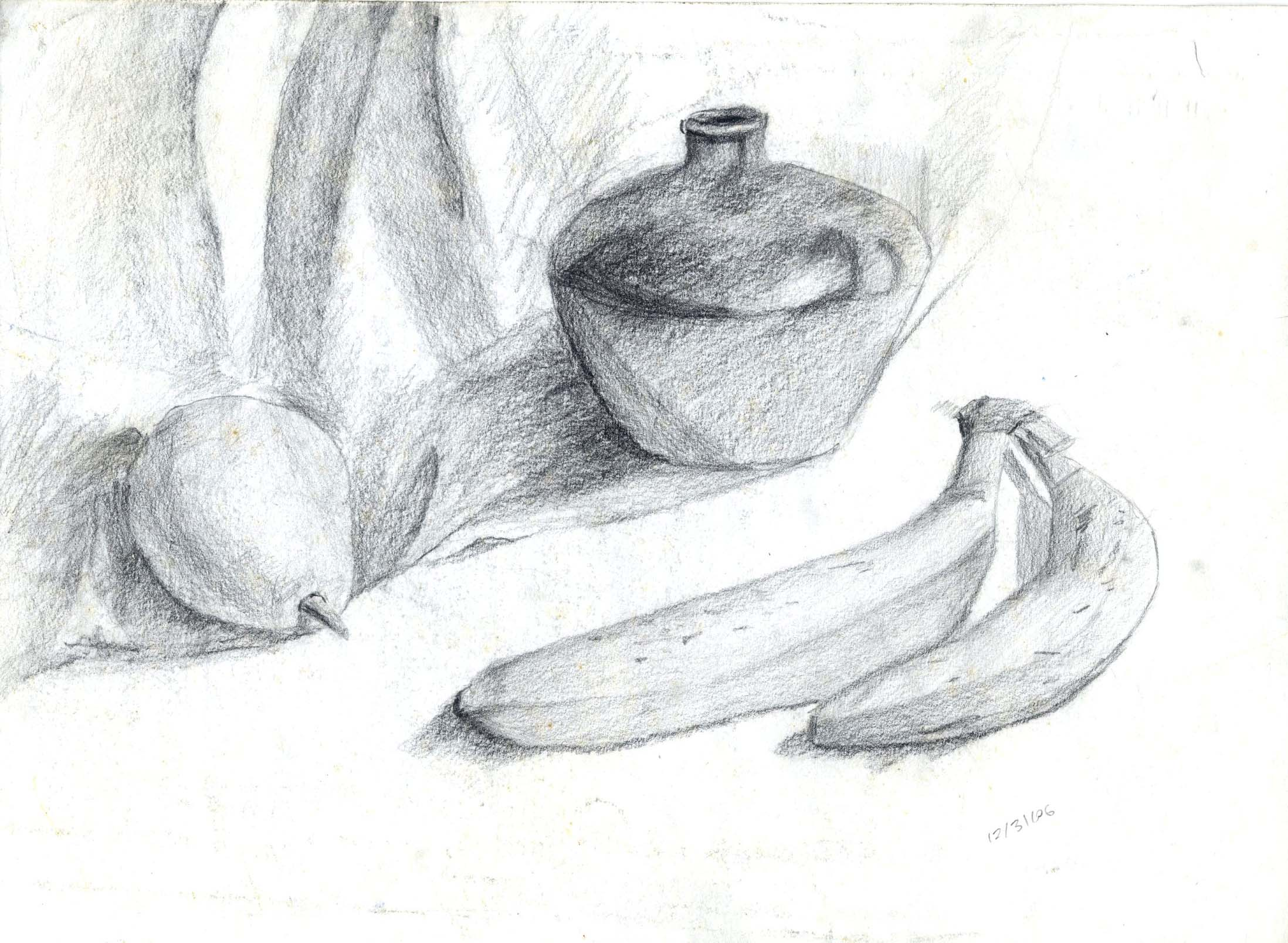 Drawn still life kettle Space Title: drawings My Juhpalang
