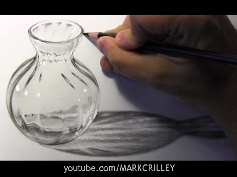 Drawn vase shadow Glass Lapse: Bottle Lapse: Time