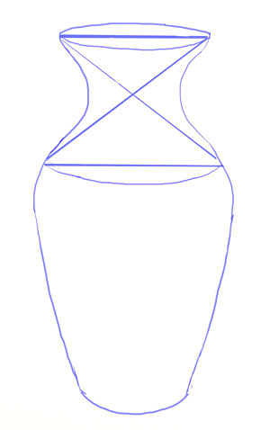 Drawn vase simple #3