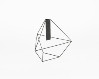 Drawn vase triangle DesignLab Triangular Etsy Wireframe Triangular