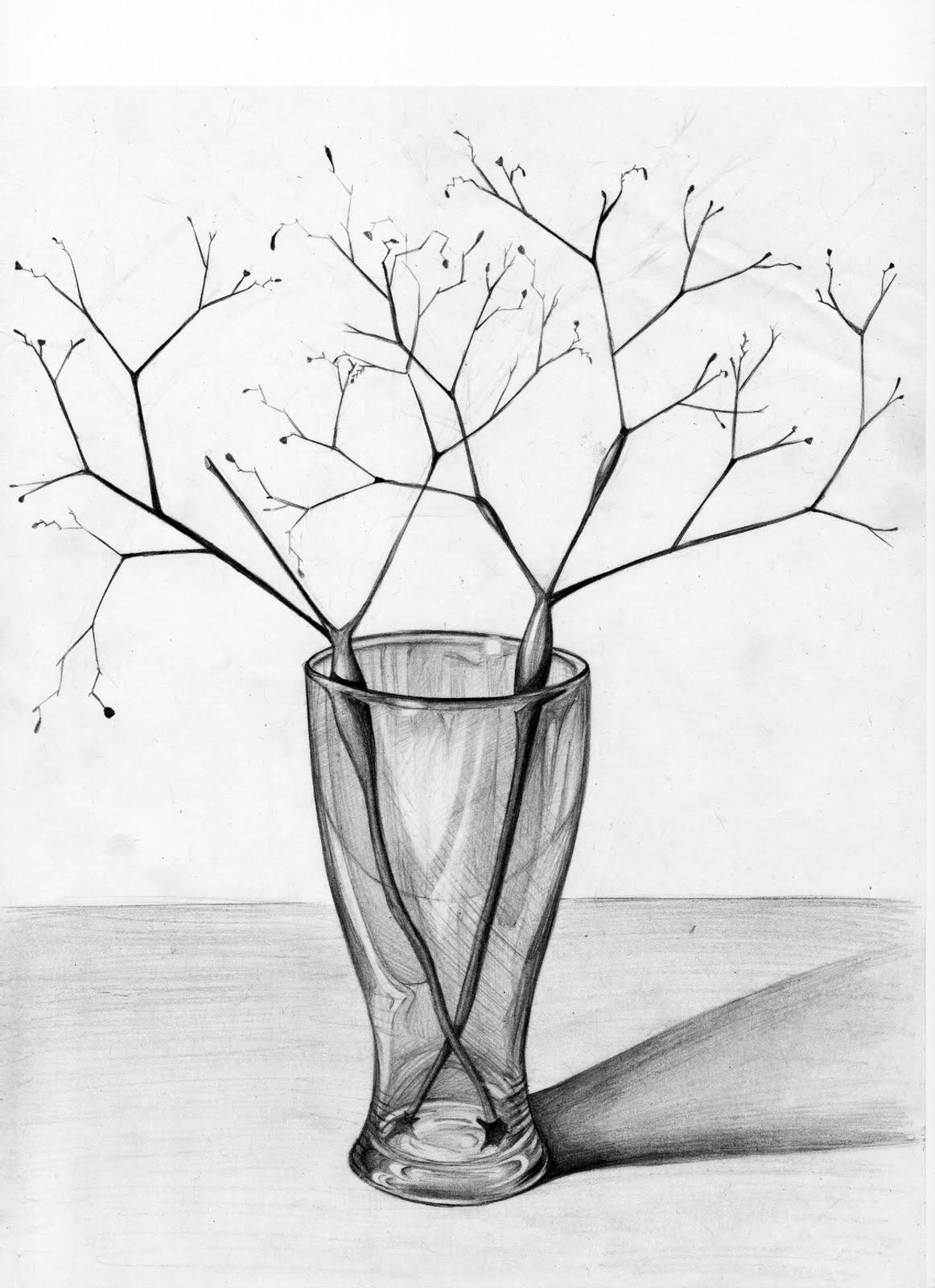 Drawn vase triangle Glass Amazing triangle regarding grey
