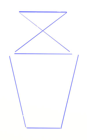 Drawn vase triangle A Drawing How Vase Yedraw