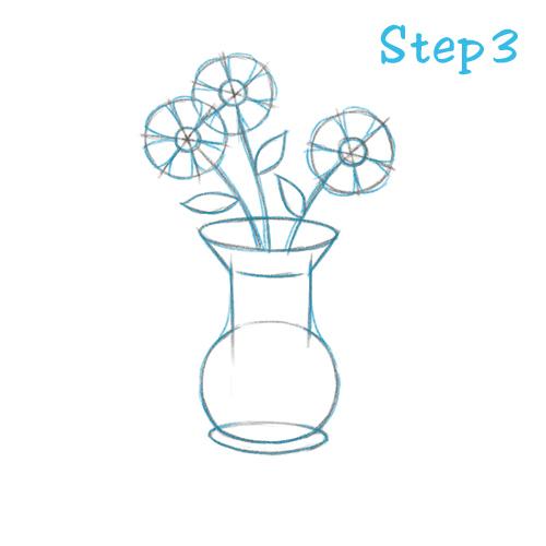 Drawn vase wash To a com sketch2draw 3