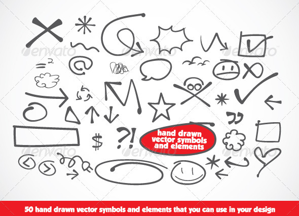 Drawn vector Hand CodeID Drawn Hand Decorative
