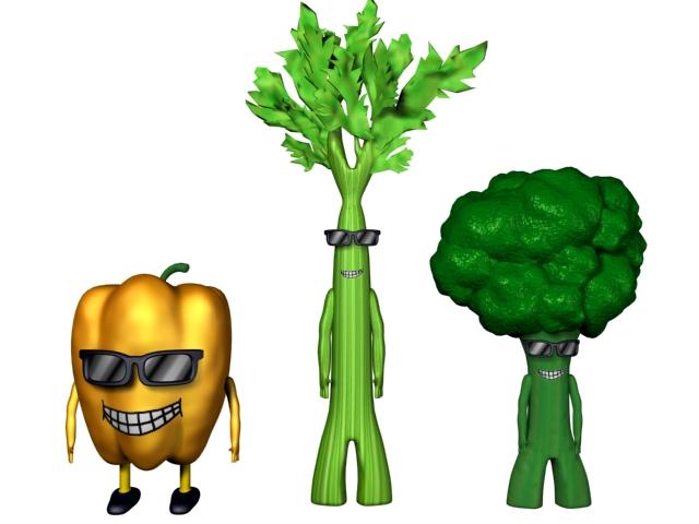 Drawn vegetable animation Blog cartoons Berlin's children animated