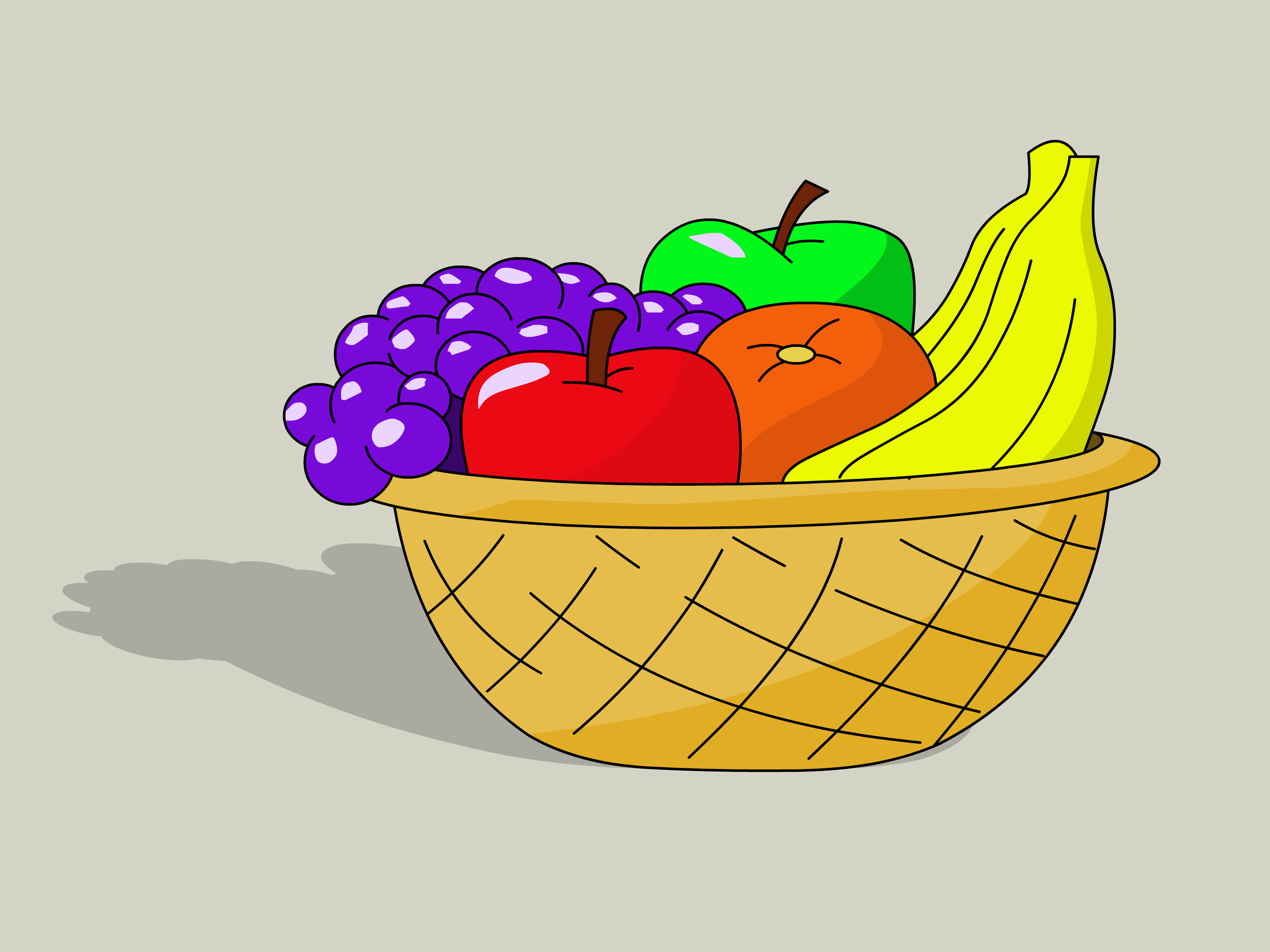Drawn vegetables fruit and vegetable Of Fruit: How  wikiHow
