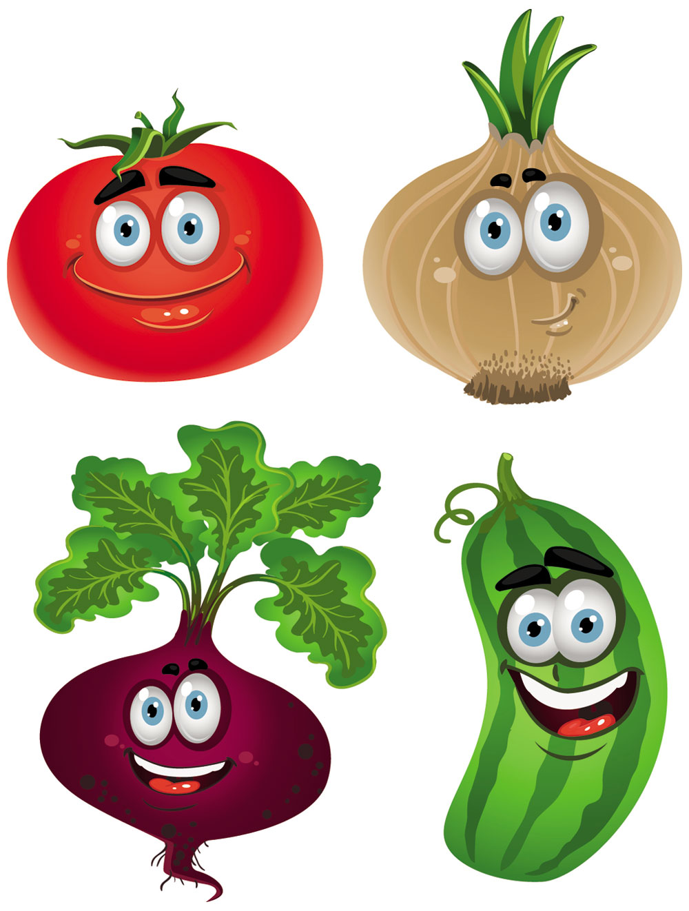 Watermelon clipart single vegetable Drawings Cartoon  and Vegetable