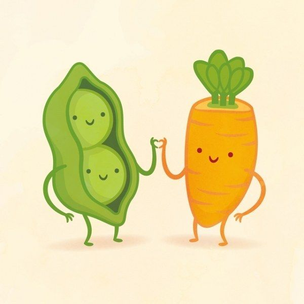 Drawn vegetable cute So And Friend? Adorable Draw
