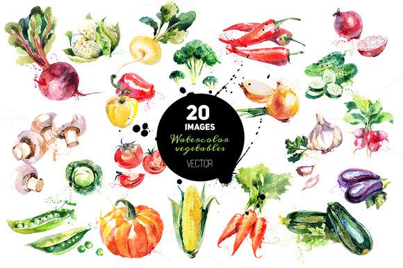 Pl clipart vegetable market #2