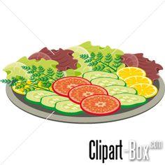 Drawn vegetables vegetable salad VEGETABLES clip Clipart Pinterest Basket