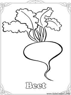 Drawn vegetables easy Vegetables Vegetables Coloring Coloring Kids