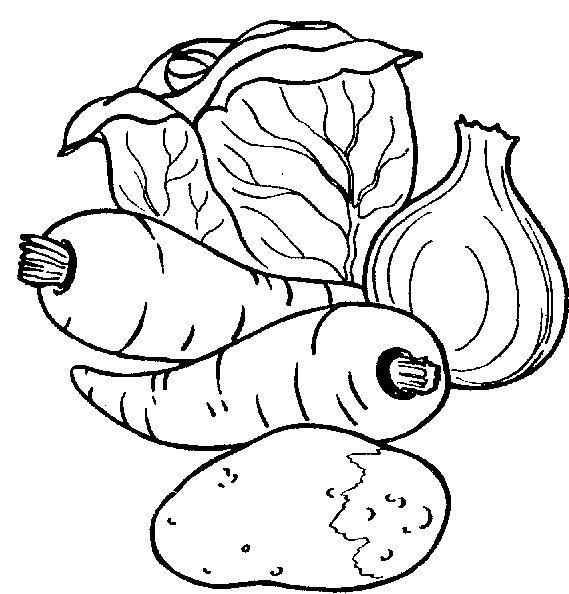 Drawn vegetables black and white 14 Pinterest on best Vegetables