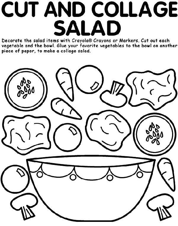 Drawn vegetables vegetable salad This on 9 art! vegetable
