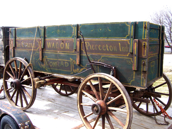 Drawn vehicle simple Conrad Restorations Wagon Drawn Reproductions