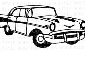 Classical clipart chevy Svg 57 BEL CHEVY file