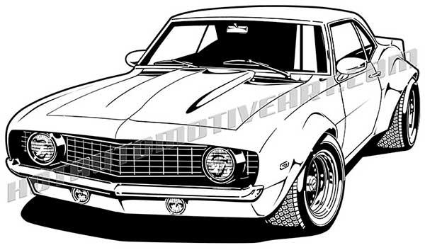 Drawn vehicle 69 camaro Chevy two get 1969 buy