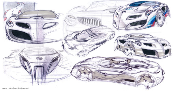 Drawn vehicle amazing car Denis Free denisdesigns Drawings