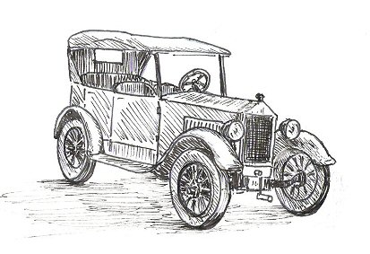 Drawn vehicle antique car How A 4 Stage Draw