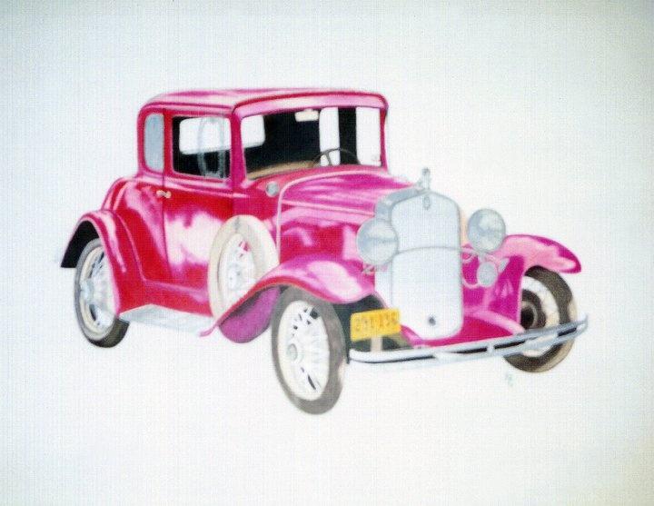 Drawn vehicle antique car A Pinterest best for Art
