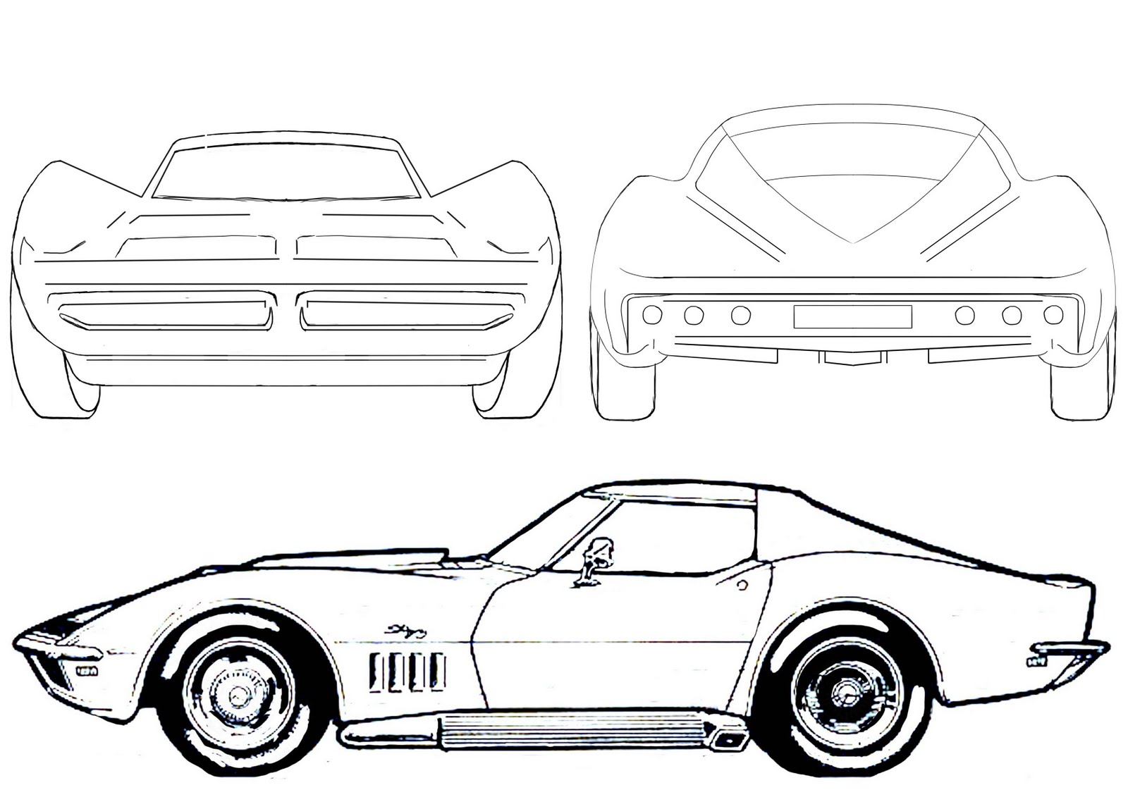 Drawn ferarri cartoon Search outline car Search outline