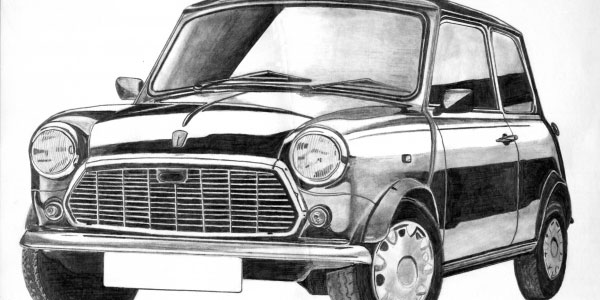Drawn vehicle awesome car Here made with cars pencil