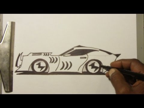 Drawn vehicle awesome car YouTube To EZ SHARK