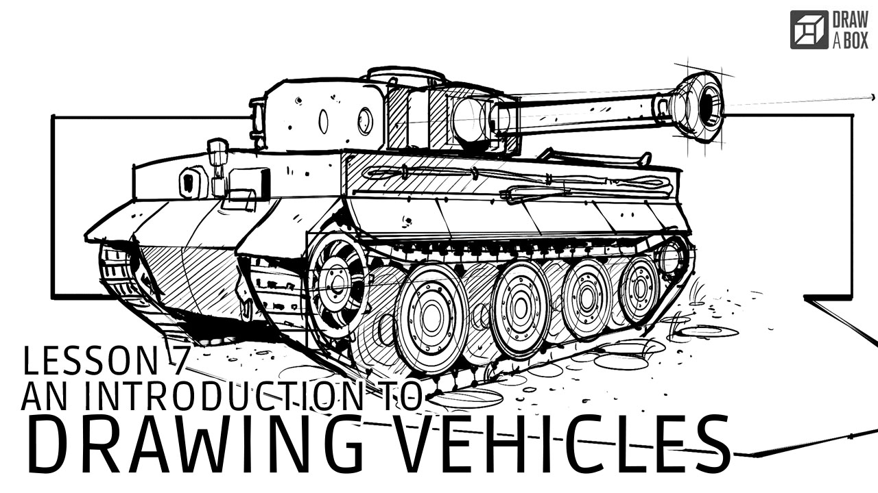 Drawn vehicle basic Vehicles An Introduction Lesson to