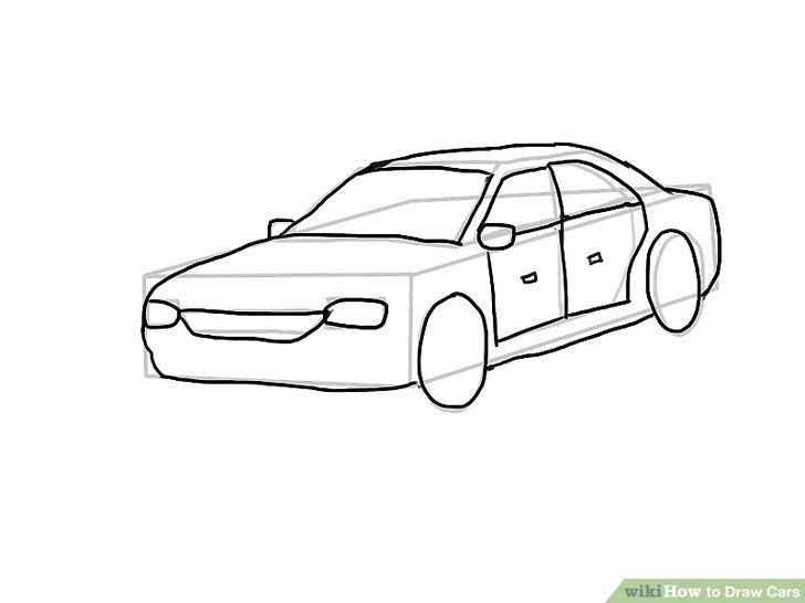 Drawn vehicle basic Step wikiHow Image Draw titled