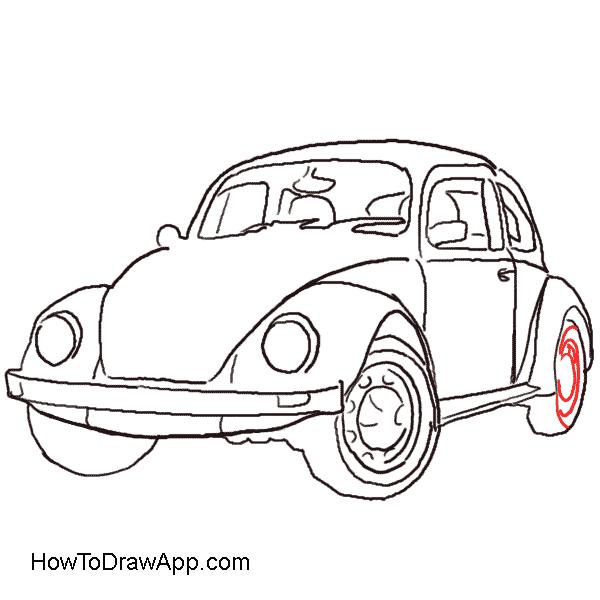 Drawn vehicle beetle Aka Beetle How a How