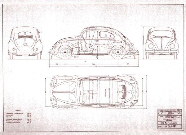 Drawn vehicle beetle Images best Pinterest Pläne VW