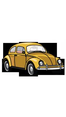 Drawn vehicle beetle Tutorial Drawing Car by Vintage