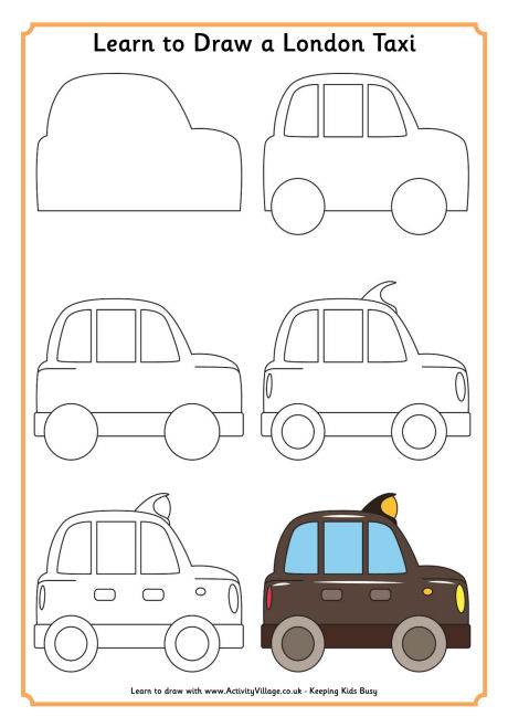 Drawn vehicle beginner Learn London Learn for to