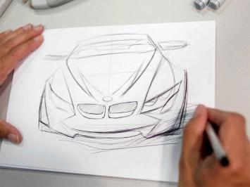 Drawn vehicle beginner How car BMW Car designer