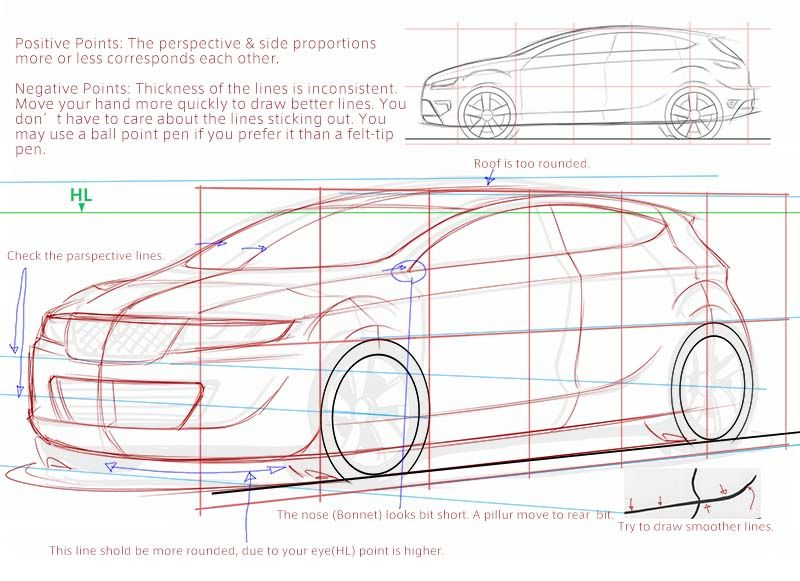 Drawn vehicle beginner Designs in job a can