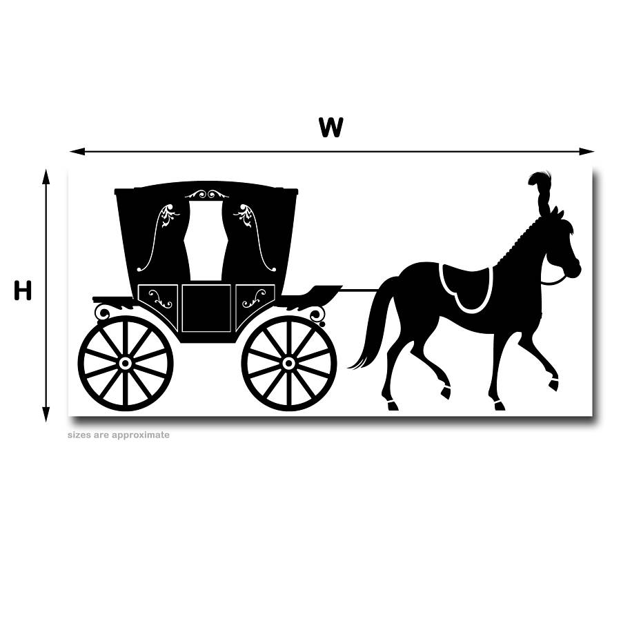 Drawn vehicle black and white By snuggledust studios Wall horse