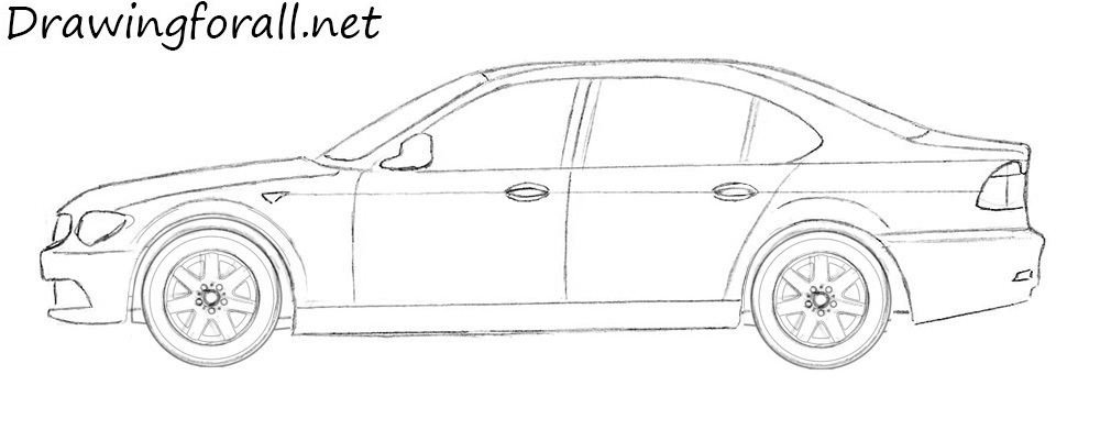 Drawn vehicle bmw A a net DrawingForAll to