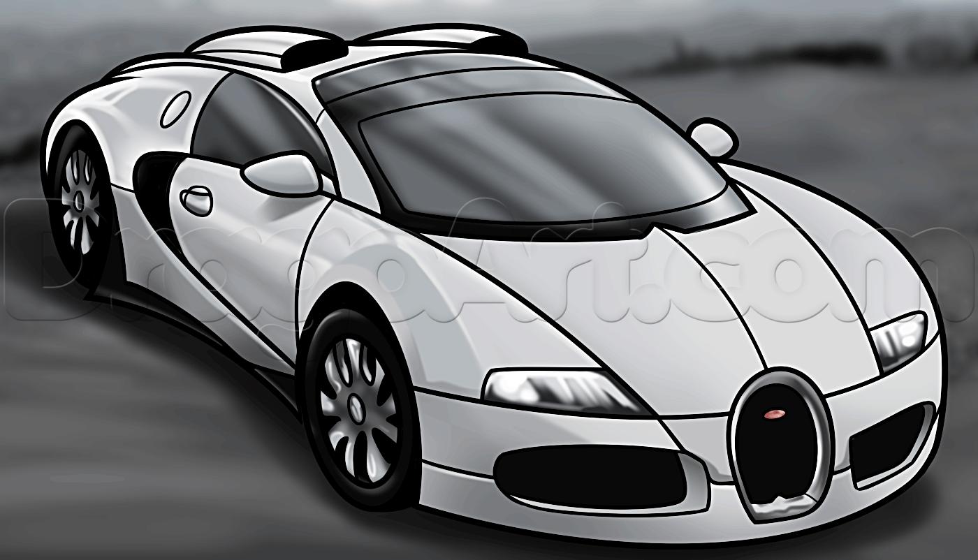 Drawn amd bugatti How Cars Step How Bugatti