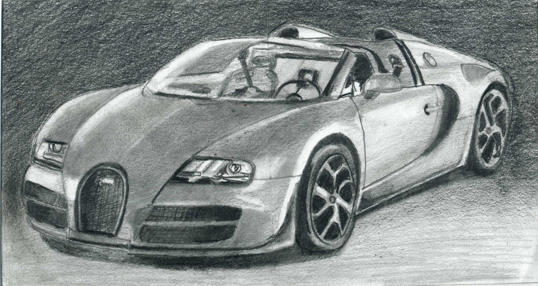 Drawn amd bugatti  Veyron By Draw Super