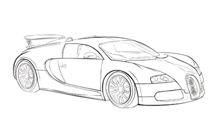 Drawn vehicle bugatti veyron Coloring Pinterest Bugatti veyron Veyron