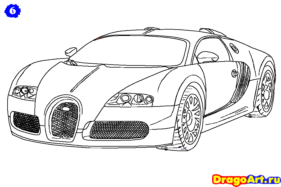 Drawn vehicle bugatti veyron Bugatti Page Archives Coloring car