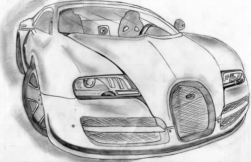 Drawn vehicle bugatti veyron Vitesse Ruku Sport kun97 by