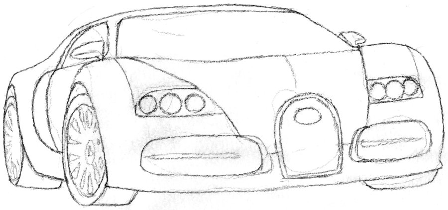 Drawn vehicle bugatti veyron Valenavix DeviantArt by by Bugatti