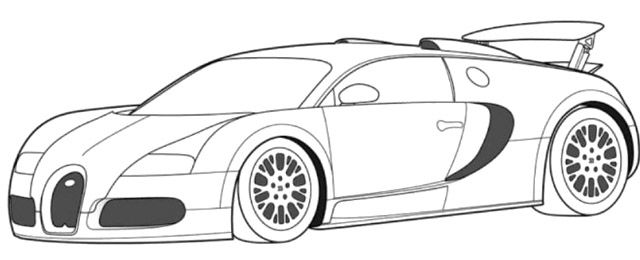Drawn vehicle bugatti veyron Coloring Bugatti Veyron Pinterest Super