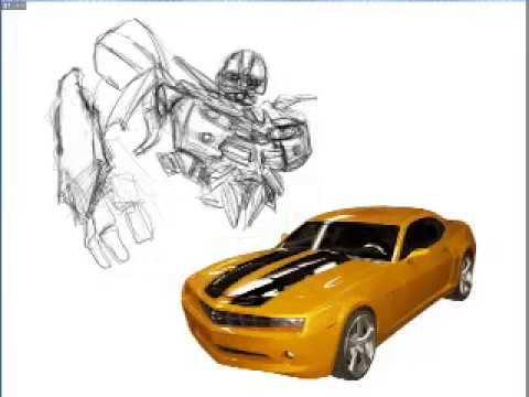 Drawn vehicle bumblebee Painting BUMBLEBEE Nico Speed Nico
